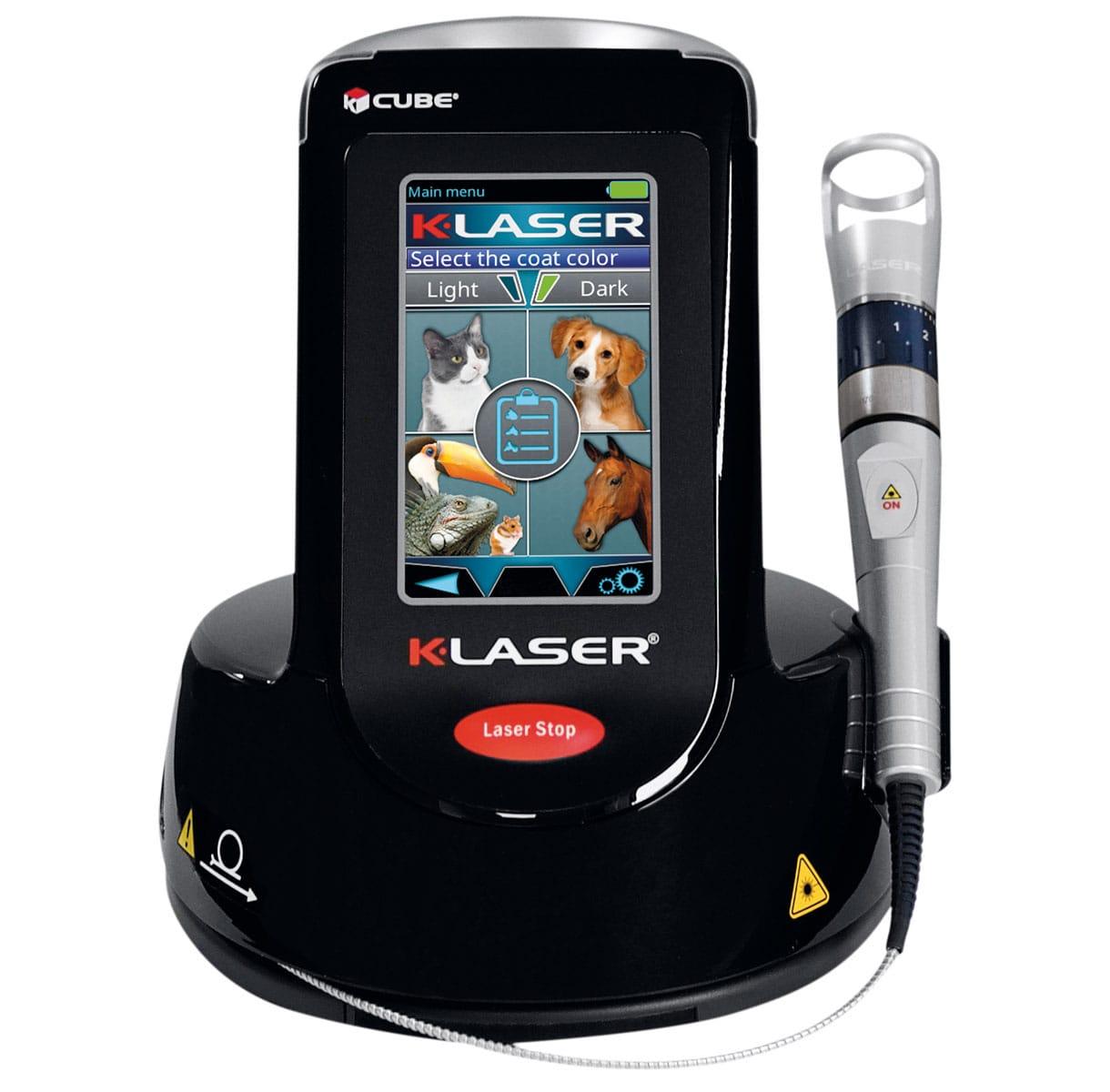 k-laser cube vet