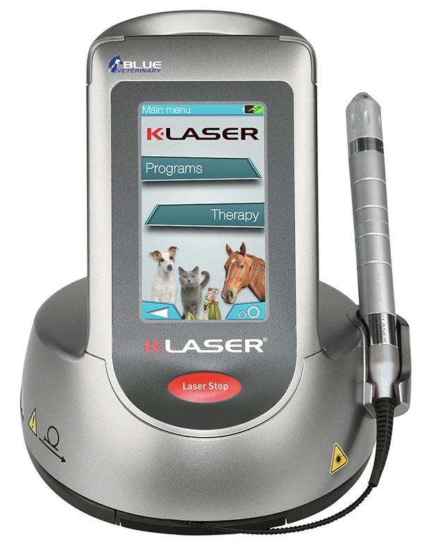 k-laser blue vet